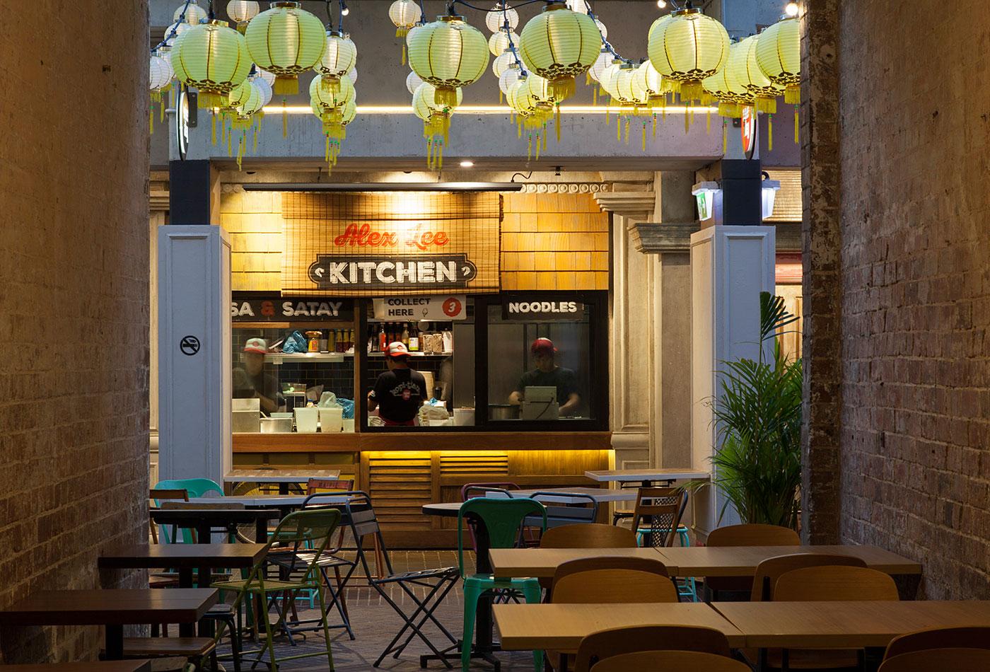 Alex Lee Kitchen, Spice Alley