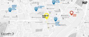 Kensington Street Parking Map