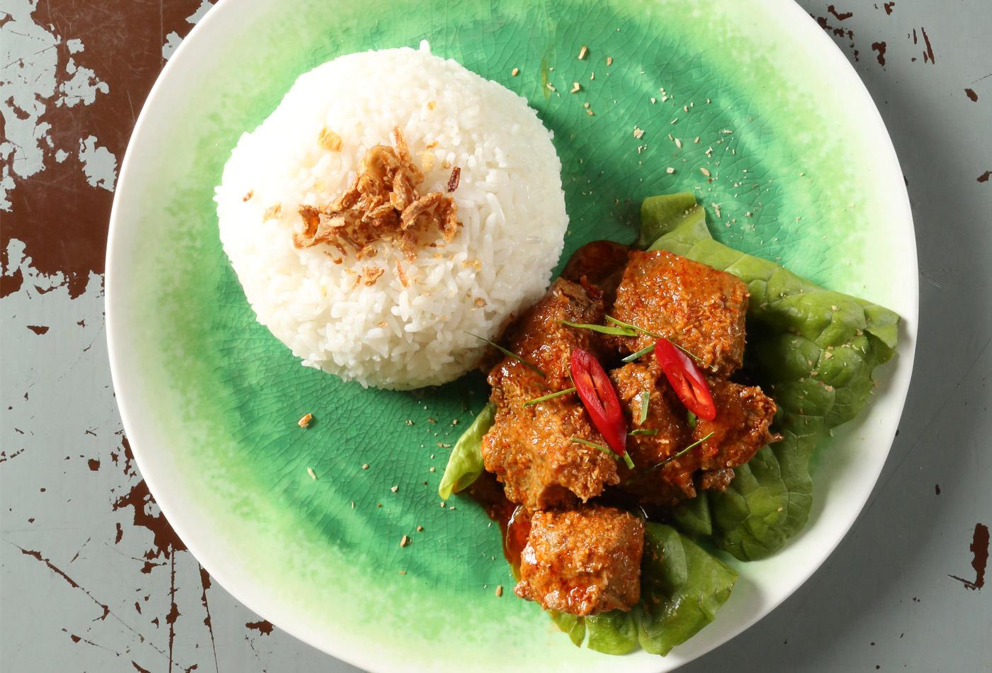 Warong Bali beef rendang
