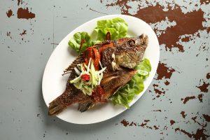 Ikan Goreng Sambal Belado