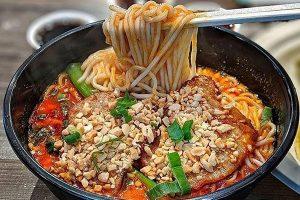 Pork Chop Dan Dan Noodle
