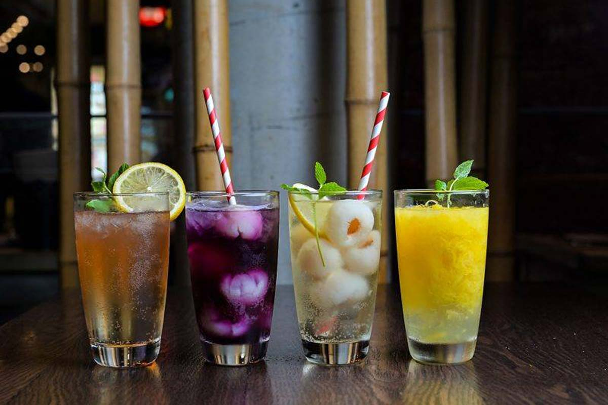 Assorted Singaporean Drinks at Alex Lee
