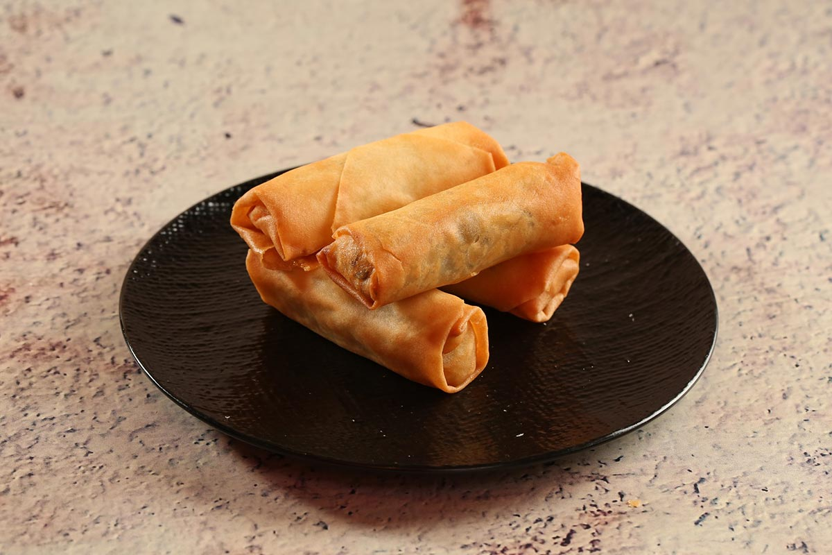 Old Jim Kee spring rolls