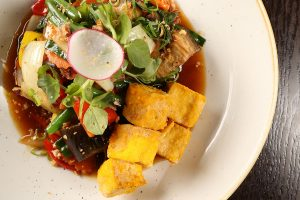 Fried Spicy Tofu at Viet