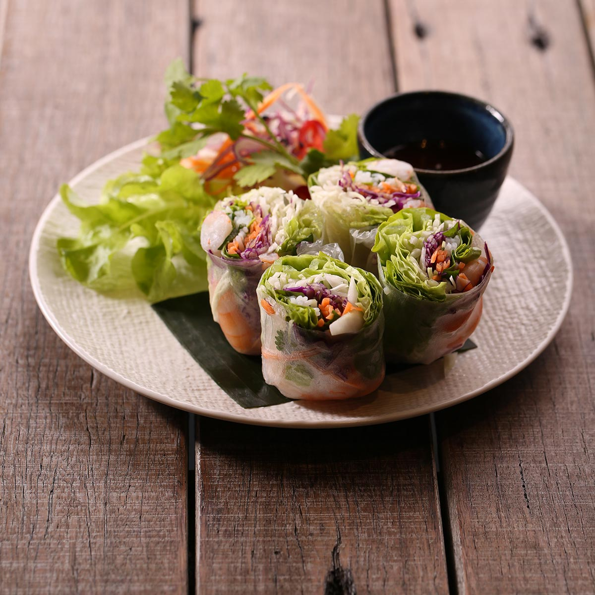 Viet rice paper rolls