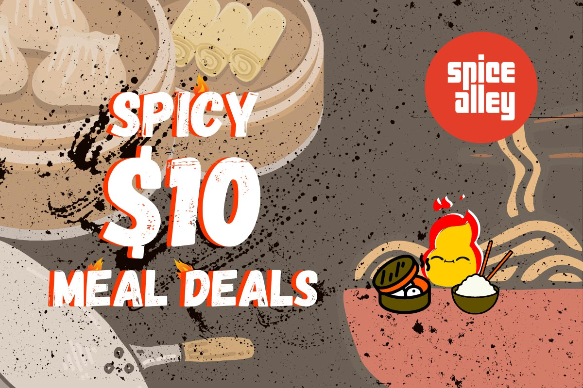 Spice Alley Spicy $10 Meal Deals