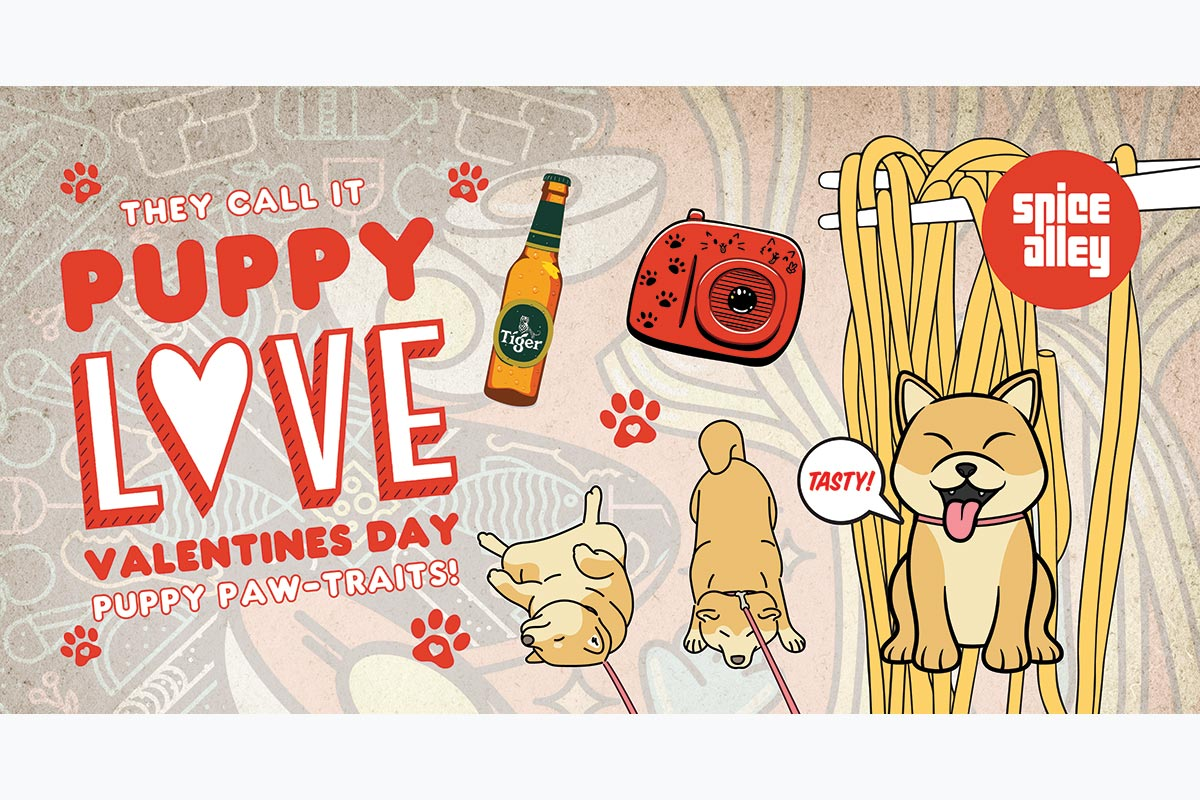 Valentine's Day Puppy Love Event